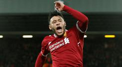 Alex Oxlade-Chamberlain. Photo: Andrew Yates/Reuters