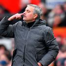 Manchester United manager Jose Mourinho needs to take advantage. Photo: Anthony Devlin/PA Wire