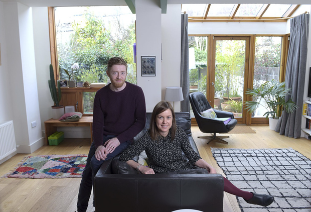 Architects Cian Deegan and Alice Casey.