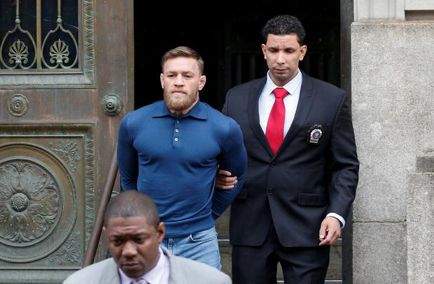 Conor McGregor has appeared in a New York court. REUTERS/Brendan McDermid