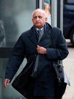 File photo dated 03/05/18 of Ajaz Karim, who will stand trial at Brighton Crown Court, where he is accused of sexually abusing students at a top private school between 1985 and 1993. Photo: Gareth Fuller/PA Wire