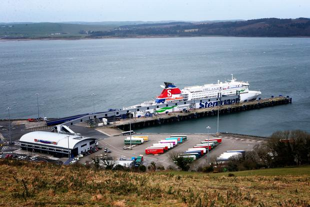 A general view of the Cairnryan Ferry Terminal, Dumfries and Galloway. Detective Chief Superintendent Raymond Murray from the Police Service of Northern Ireland made an appeal for further information, at the Cairnryan Ferry Terminal, on the 30th anniversary of the murder of 18-year-old German backpacker Inga Maria Hauser. Photo: Jane Barlow/PA Wire