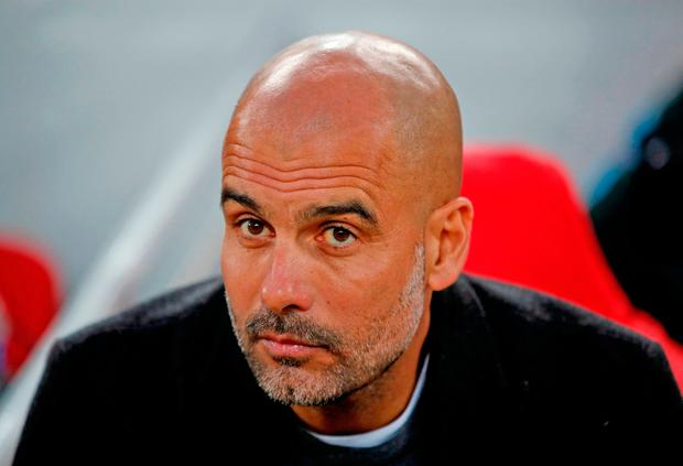 Manchester City manager Pep Guardiola. Photo: Reuters