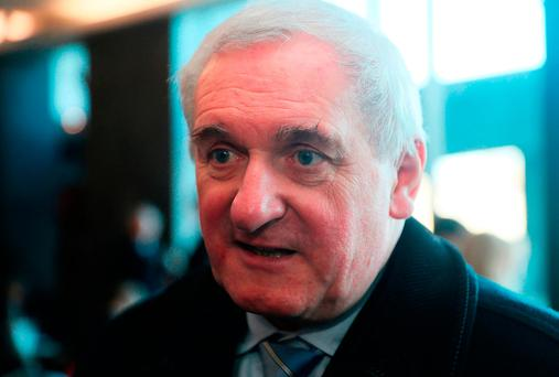 Bertie Ahern walks out of interview when asked about Mahon tribunal