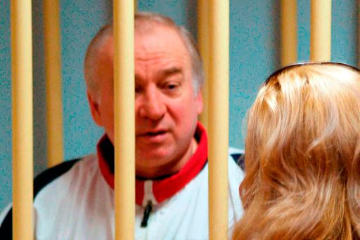 A file image of Sergei Skripal in a Moscow courtroom in 2006. Photo: Getty Images