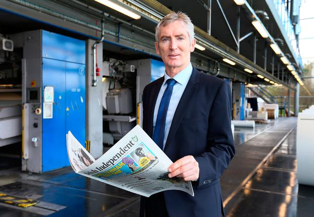 Independent News & Media chief executive Michael Doorly told staff their jobs were not at risk
