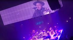 Arcade Fire in Dublin. Picture: Screengrab Roy O'Mahony/YouTube