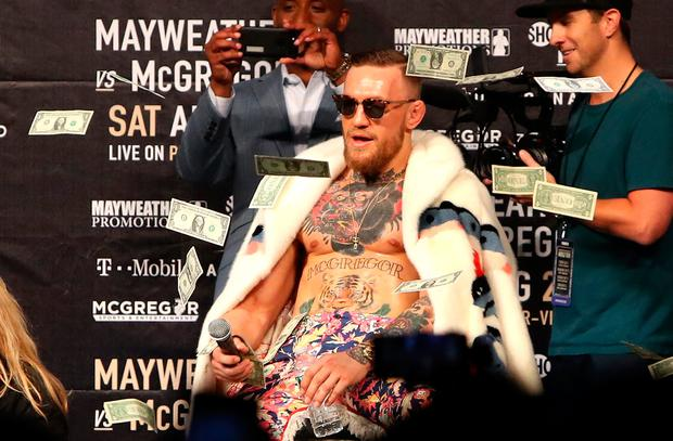 Conor McGregor will earn a flat $3million against Khabib Nurmagomedov