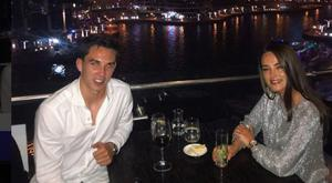 Joey Carbery and girlfriend Robyn Flanagan in Dubai. Picture: Instagram
