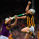 Padraig Walsh and Conor Delaney have big roles to play in the Kilkenny defence. Photo by Brendan Moran/Sportsfile