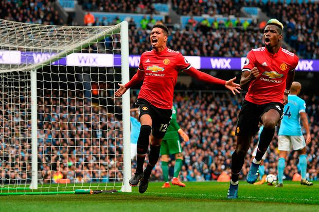 Man united celebration pictures