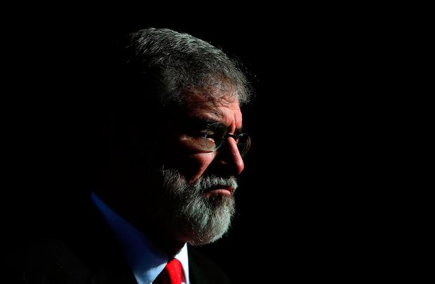 Former Sinn Fein leader Gerry Adams. Photo: PA
