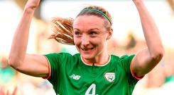 Louise Quinn: It's all about the football. Photo: Stephen McCarthy/Sportsfile