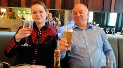 Victims: Yulia and Sergei Skripal are set to speak to investigators. Photo by REX (9452103m)