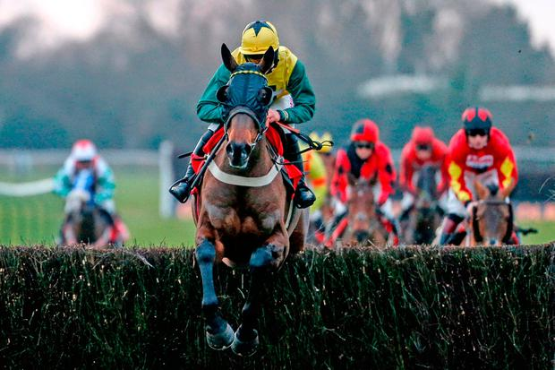 Bryony Frost riding Milansbar: 'I think Milansbar and Bryony are a marriage made in Heaven,' says owner Robert Bothway. Photo: Alan Crowhurst/Getty Images