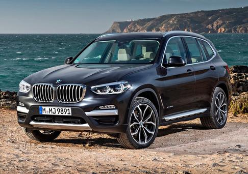 ASSURED DRIVING: The classy new X3 does 40 miles per gallon and has a great luggage area