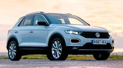 PUMPED UP: The Volkswagen T-Roc