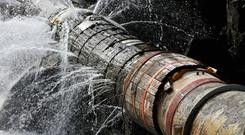 'Unaccounted for water' is on the rise, Irish Water admits. Stock Image