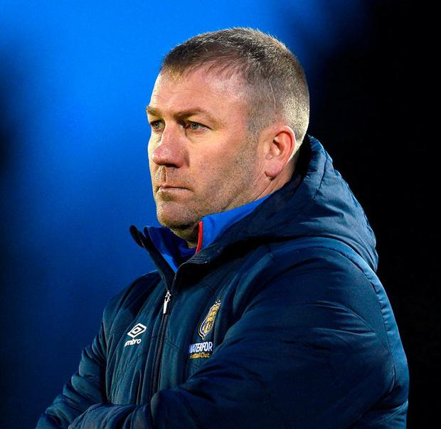 Waterford FC manager Alan Reynolds. Photo: Matt Browne/Sportsfile