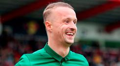 Celtic's Leigh Griffiths. Photo: Jane Barlow/PA Wire