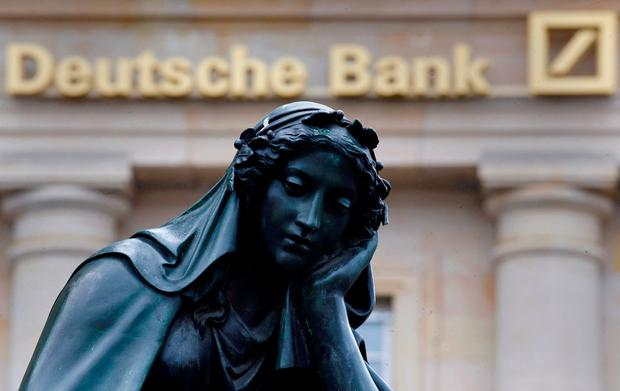 'Deutsche Bank was also preparing last night to promote Garth Ritchie as sole head of investment banking.' Photo: REUTERS/Kai Pfaffenbach / File Photo