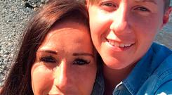 Undated family handout file photo issued by Merseyside Police of Laura Williams (left) and Cassie Hayes. Andrew Burke, 30, has pleaded guilty at Liverpool Crown Court to the murder of Ms Hayes, 28, at her workplace in Southport. Family Handout/PA Wire