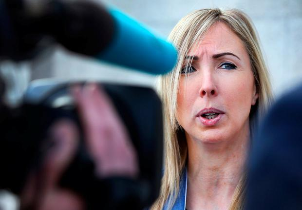 Data Protection Commissioner Helen Dixon at the RDS. Photo: Steve Humphreys