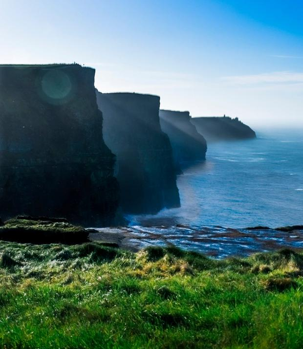 Motorists endure traffic delays visiting the Cliffs of Moher
