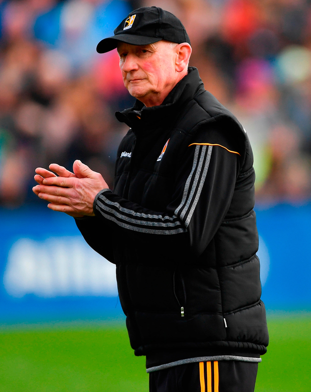Brian Cody will be delighted with another league title after campaign got off to a difficult start Photo: Piaras Ó Mídheach/Sportsfile