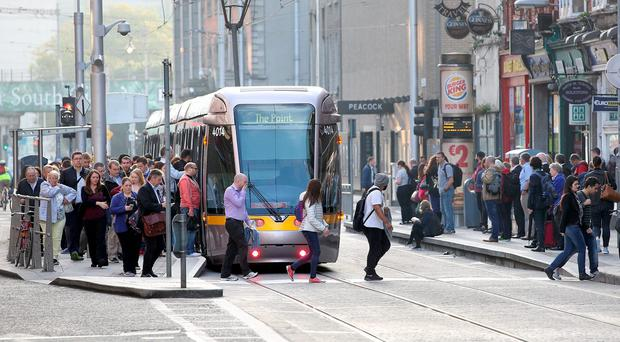 Renters who live near Dart and Luas stops in Dublin have seen the costs of accommodation rise.