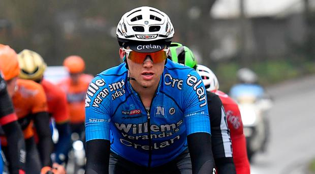 Michael Goolaerts, who died on Sunday Photo: DIRK WAEM/AFP/Getty Images