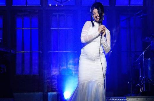 Cardi B announced her pregnancy at the weekend