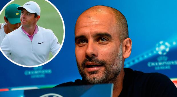 Eamon Dunphy has compared Pep Guardiola's Man City to Rory McIlroy