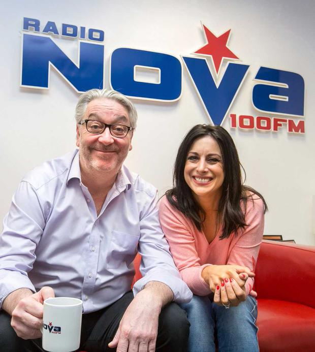 Colm Hayes and Lucy Kennedy will co-host a new Breakfast Show on Radio Nova
