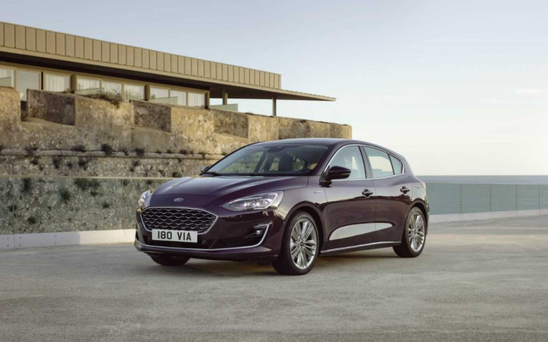 The new Ford Focus.