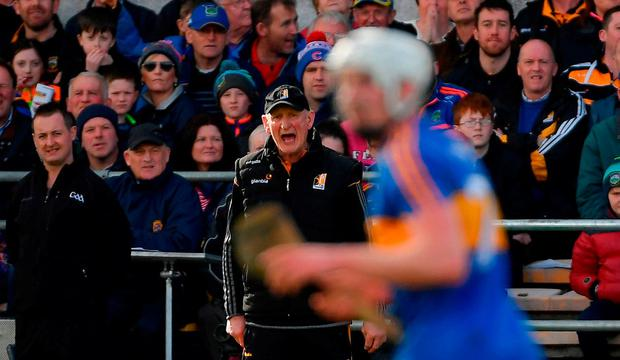 Kilkenny manager Brian Cody during the Allianz Hurling League Division 1 Final match between Kilkenny and Tipperary at Nowlan Park in Kilkenny. Photo by Piaras Ó Mídheach/Sportsfile