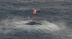 Rescue off coast of Mayo (Photo: Air Corps)