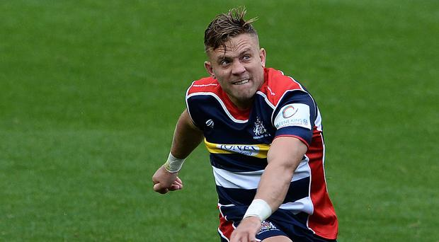 Ian Madigan will be hoping to maintain his good form for Bristol. Photo: Getty