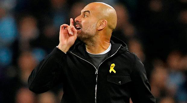 Guardiola hit with UEFA charge after Man City Champions League exit