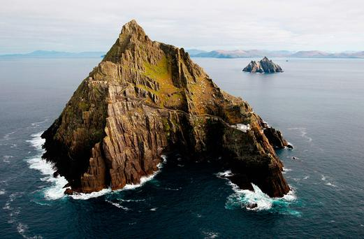 Skellig Michael is one of several historical sites and monuments which will receive funding for conservation. Photo: PA