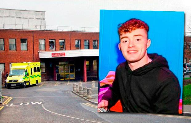 James Maguire (inset) is being treated at Beaumont Hospital