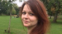 Yulia Skripal has left hospital in Salisbury and is believed to have been taken to a safe house