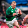 17 March 2018; Keith Earls of Ireland in action against Sam Simmonds of England during the NatWest Six Nations Rugby Championship match between England and Ireland at Twickenham Stadium in London, England. Photo by Ramsey Cardy/Sportsfile