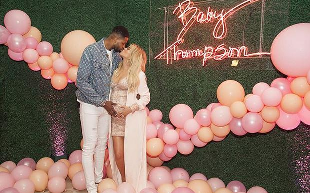 Tristan Thompson and Khloe Kardashian. Picture: Instagram