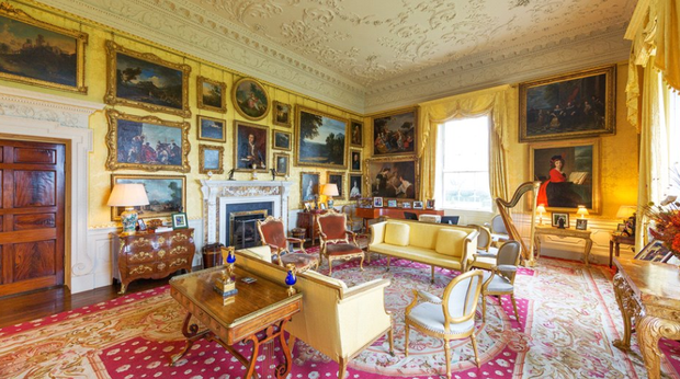 The drawing room. Photo: Knight Frank