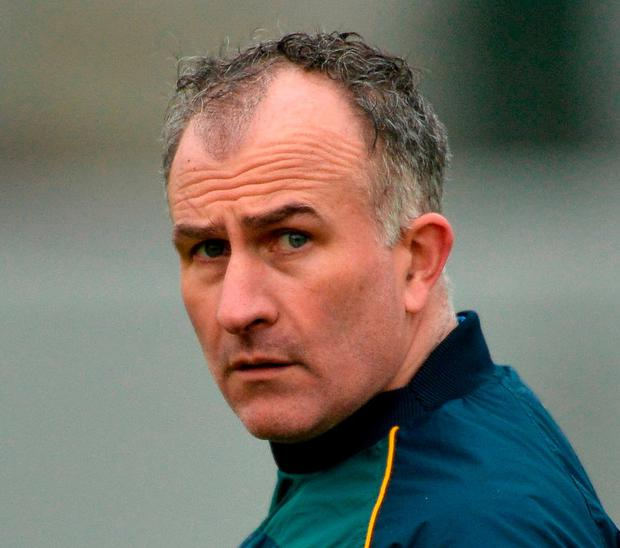 Offaly manager Stephen Wallace. Photo: Piaras Ó Mídheach/Sportsfile