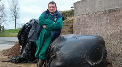 Cavan farmer Hugh Farrell. Photo: Lorraine Teevan