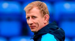 Head coach Leo Cullen. Photo: David Fitzgerald/Sportsfile