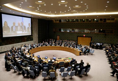 The Security Council meets at United Nations headquarters Monday