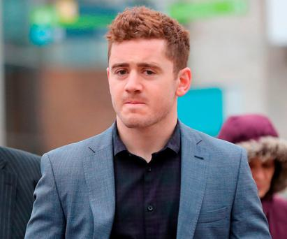 Ulster rugby player Paddy Jackson Photo: Niall Carson/PA Wire
